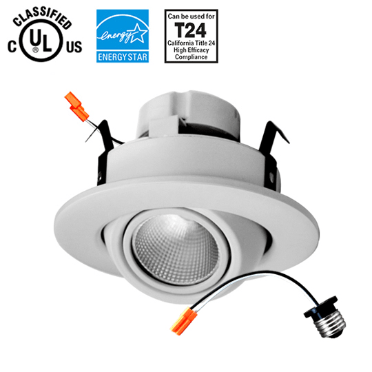 Spot on! 4inch LED Gimbal Downlight