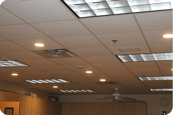 OKT led ceiling downlight In Church - Texas