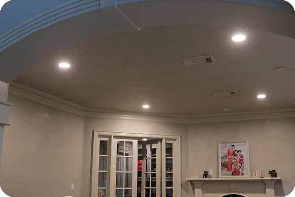 OKT LED Recessed Retrofit Downlight in House - Houston