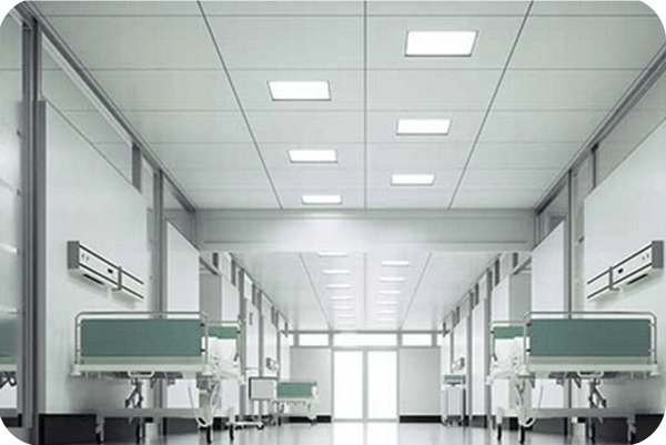 OKT 2x2ft led panel light in hospital in Canada in 2015
