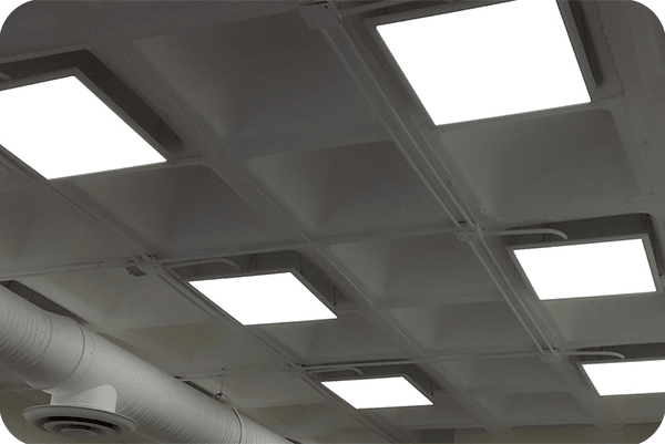 OKT 2*2FT LED Panel Light in office in Mexico in 2015