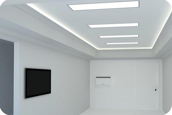 OKT Lighting 63W 2X4FT 5000K Selected panel light in office in New Orleans in 2015