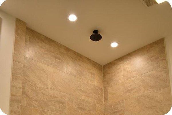 OKT Lighting 6inch 11W downlight in the bathroom in New Orleans in 2015