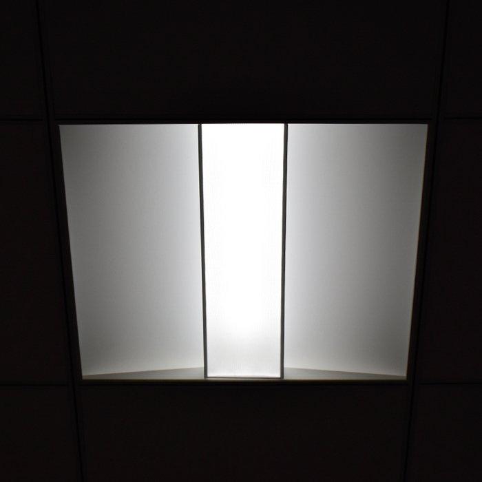 595X595mm LED Troffer