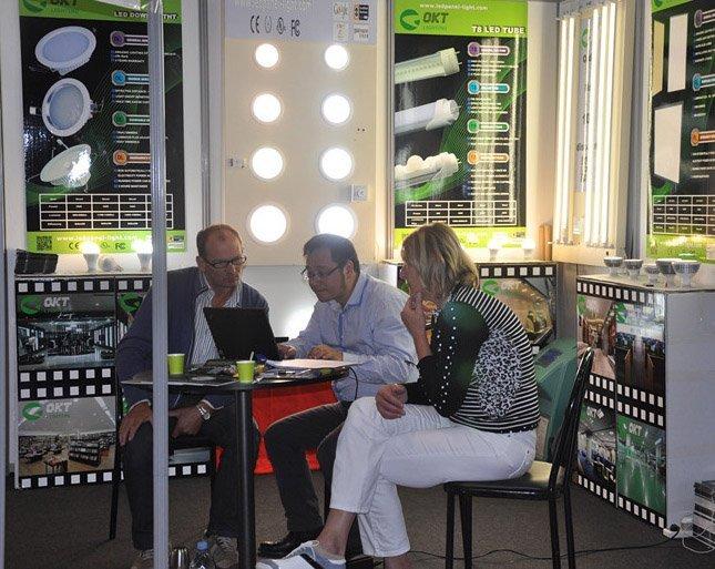 The Lyon Lighting Show in France - June 5-7, 2012