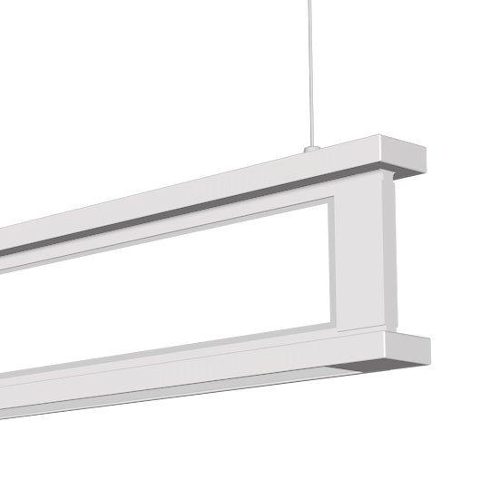 Vertical LED Linear Pendant Fixture