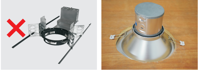 LED downlights with Junction box