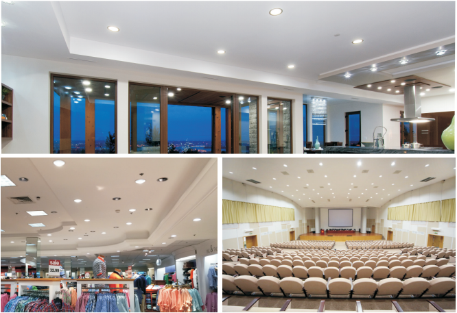 led downlight projects