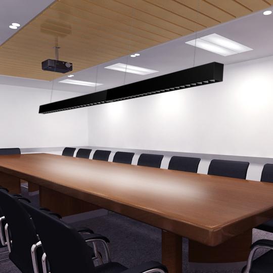 Low Glare LED Linear Light Fixture