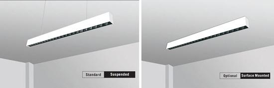 led linear lighting surface mount