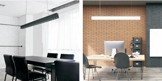 pendant linear light for office