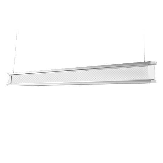 Vertical LED Linear Pendant Fixture